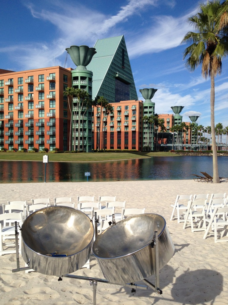 Wedding Ceremony at the Disney Swan and Dolphin Resort