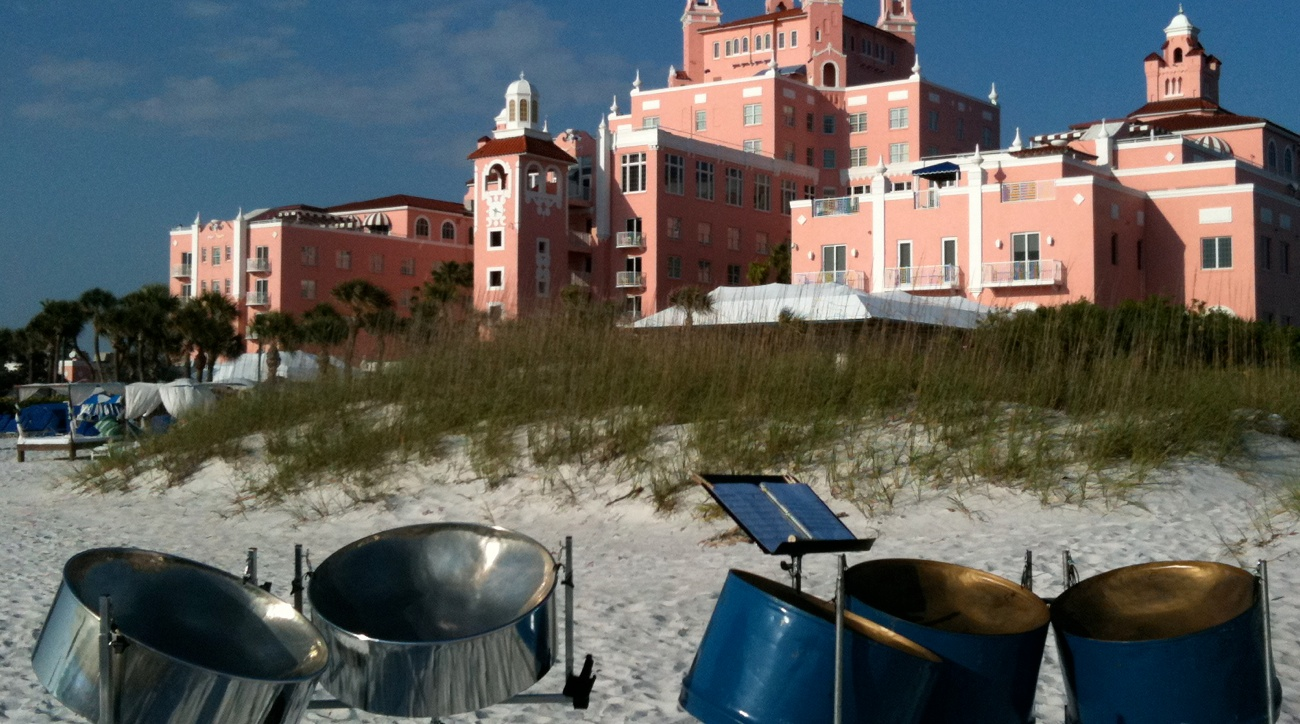 Steel Drum Band  Don CeSar St Petersburg Beach