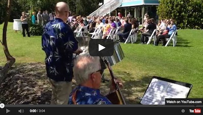 Video – Steel Drum and Guitar Wedding Ceremony Duo
