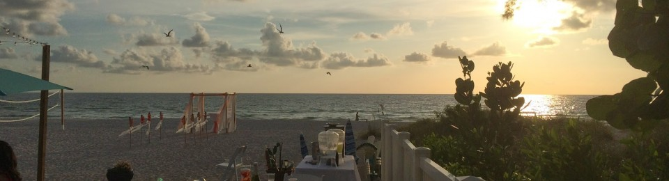 Wedding Ceremony on Indian Rocks Beach