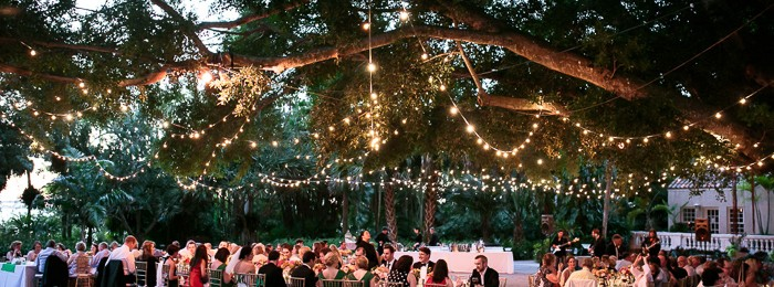 Sarasota wedding at Selby Gardens featured in wedding blog