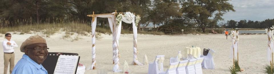 Steel Drum Wedding on Anna Maria Island Bradenton Beach