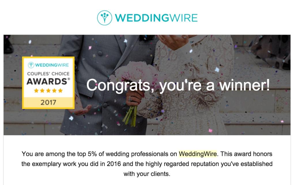 Caladesi Steel Band wins WeddingWire Couple's Choice 2017
