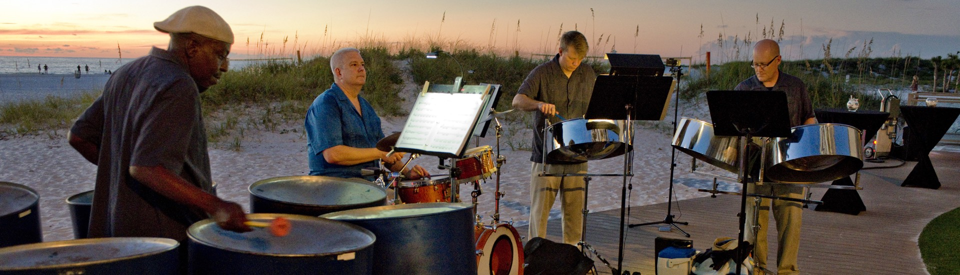 Caladesi Steel Band - Steel Drum Band Quartet Sandpearl