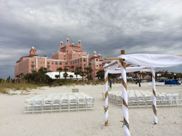 Don CeSar North Beach Wedding Ceremony