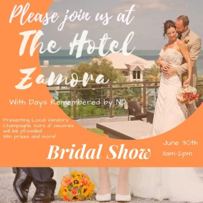 The Hotel Zamora Bridal Show