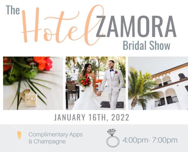 Hotel Zamora Bridal Show 2022